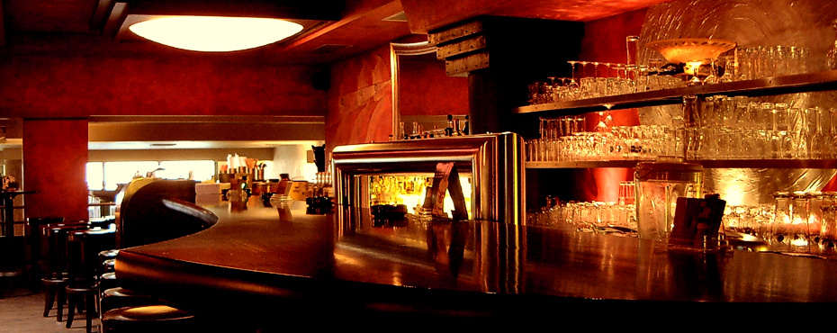 Innenarchitektur gastronomie bar lounge referenz 06 for Innenarchitektur gastronomie