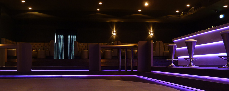 Innenarchitektur gastronomie bar lounge referenz 15 for Gastronomie innenarchitektur