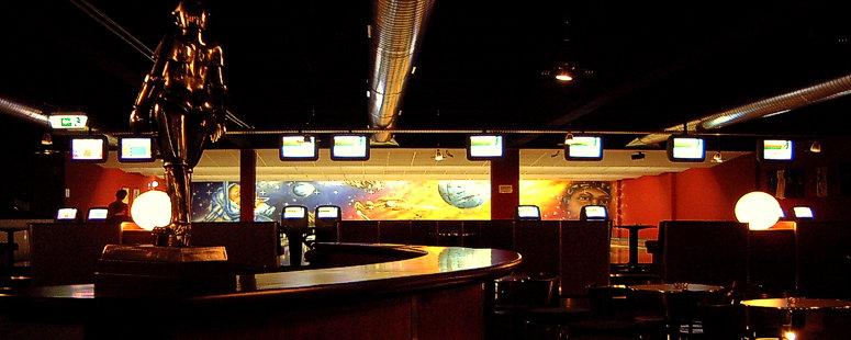 Raumdesign konzeption trends styles fun bowling innsight for Raumgestaltung gastronomie